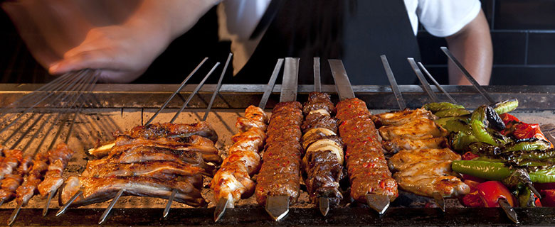 Stainless Steel Kebab (Kabob) Skewers