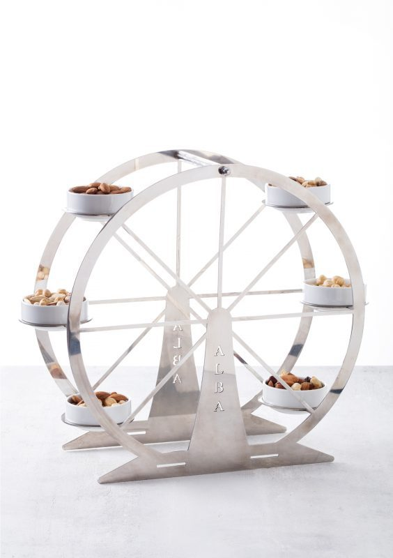 Eye Snack Afternoon Tea Stand