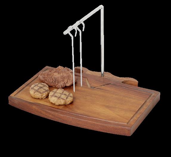 MA-07- SM Bull Steakboard Espetada Stand